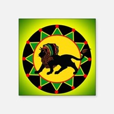 Jah King Rasta Lion Sticker