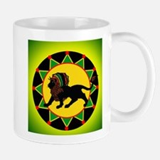 Jah King Rasta Lion Mug
