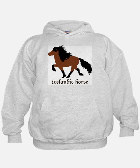 Men's With Bay Icelandic Horse Sweatshirt
