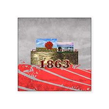 """ABH Chancellorsville Square Sticker 3"""" x 3"""""""