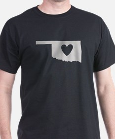Heart Oklahoma T-Shirt