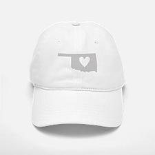 Heart Oklahoma Baseball Baseball Cap