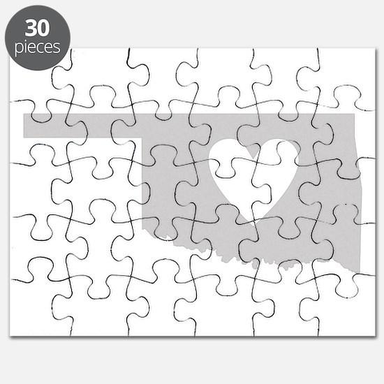 Heart Oklahoma Puzzle
