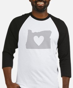Heart Oregon Baseball Jersey