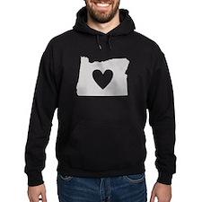 Heart Oregon Hoodie