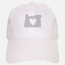 Heart Oregon Baseball Baseball Cap