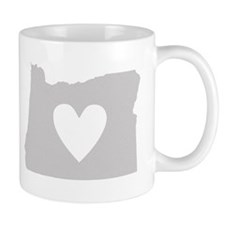 Heart Oregon Mug