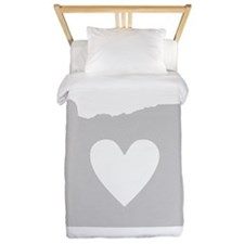 Heart Oregon Twin Duvet