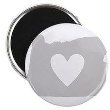 Heart Oregon Magnet