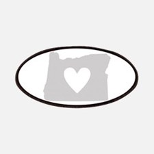 Heart Oregon Patches