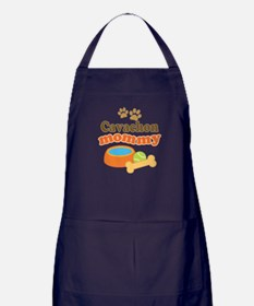 Cavachon Mommy Apron (dark)