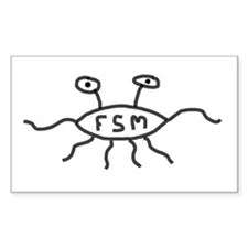 Flying Spaghetti Monster Decal
