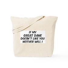If my Great Dane Tote Bag