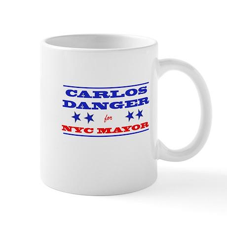 Carlos Danger for Mayor Mug