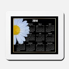 2014 Daisy Calender Mousepad