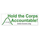 Levees.Org Bumper Sticker
