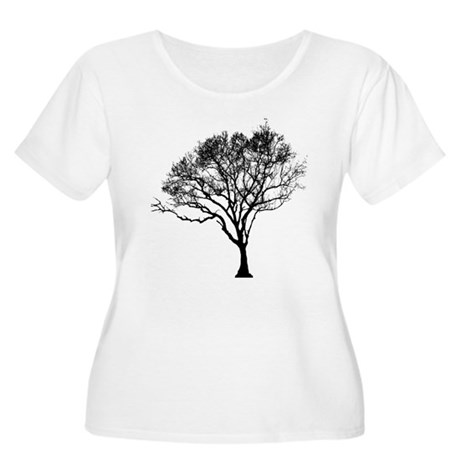 Tree Women's Plus Size Scoop Neck T-Shirt