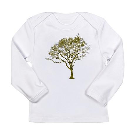 Tree (green) Long Sleeve Infant T-Shirt
