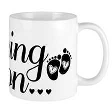 Coming Soon - Baby Footprints Small Mug