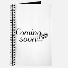 Coming Soon - Baby Footprints Journal