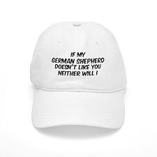 If my German Shepherd Baseball Cap
