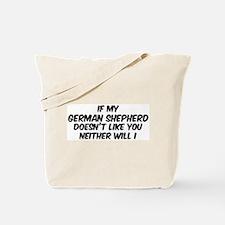 If my German Shepherd Tote Bag