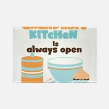 Grandmas Kitchen Always Open Rectangle Magnet