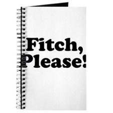 Fitch, Please! Journal