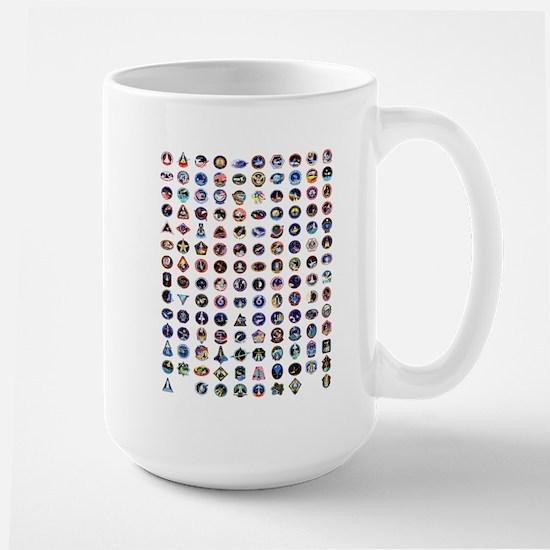 Shuttle Logo Composite Large Mug Mugs