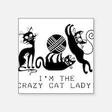 I'm the Crazy Cat Lady Sticker