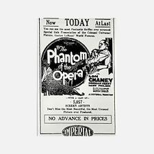 Lon Chaney Phantom of the Opera Rectangle Magnet