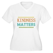 Kindness Matters Plus Size T-Shirt