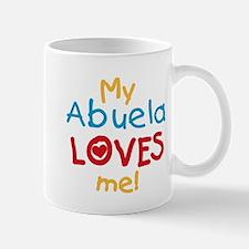 My Abuela Loves Me Mug