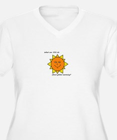 Sun shine Plus Size T-Shirt