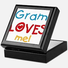 Gram Loves Me Keepsake Box