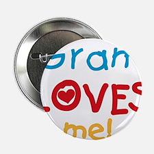 "Gram Loves Me 2.25"" Button"