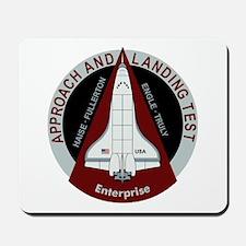Enterprise Landing Test Mousepad