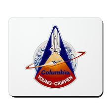 STS-1 Columbia Mousepad