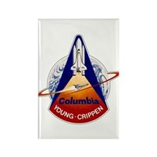 STS-1 Columbia Rectangle Magnet