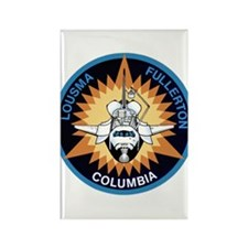 STS-3 Columbia Rectangle Magnet