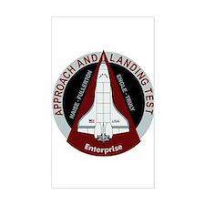 Enterprise Landing Test Decal