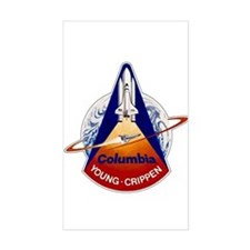 STS-1 Columbia Decal