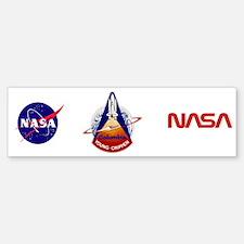 STS-1 Columbia Bumper Bumper Sticker