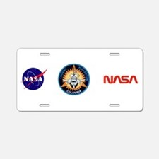 STS-3 Columbia Aluminum License Plate
