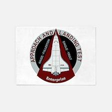 Enterprise Landing Test 5'x7'Area Rug