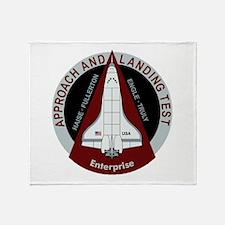 Enterprise Landing Test Throw Blanket