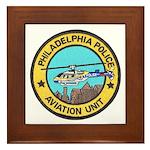 Philadelpia PD Air Ops Framed Tile