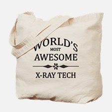 World's Most Awesome X-Ray Tech Tote Bag