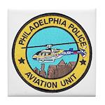 Philadelpia PD Air Ops Tile Coaster