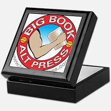 Big Book Alt Press Logo Keepsake Box